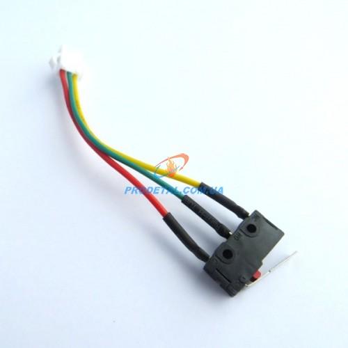 Микровыключатель для китайских газовых колонок три контакта с планкой DION