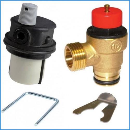 Предохранительные клапана безопасности и воздушные клапана