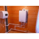 Газовое отопление в деревянном доме: варианты реализации и техника безопасности