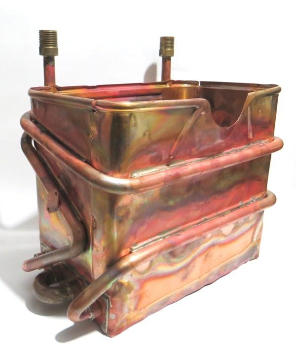 Теплообменник в колонке термет Кожухотрубный испаритель Alfa Laval DM1-277-2 Юрга